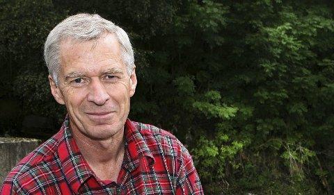 Rettigheter: Bernt Stilluf Karlsen fra Bærum, har rettighetene til å lete etter sølv i Kongsberg og Flesberg. Foto: Eva Groven, Budstikka. Media