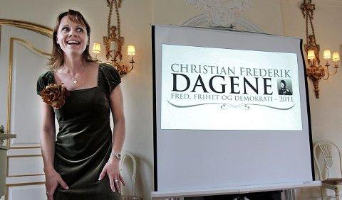 Åshild Skiri Refsdal har sunget veldig mye etter terrordramaet. I går sang hun to ganger under åpningen av Christian Frederik-dagene 2011.