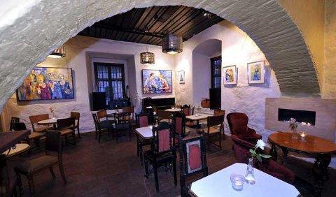 kreativt: Cafeen har en blanding av gammelt og nytt. Foto: trond thorvaldsen