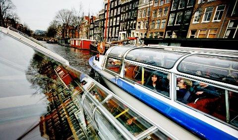 24 timer i Amsterdam. Vi hadde det morsomt, vi. Men det hadde gjort seg med 48 timer i kanalbyen. Eller aller helst 72.