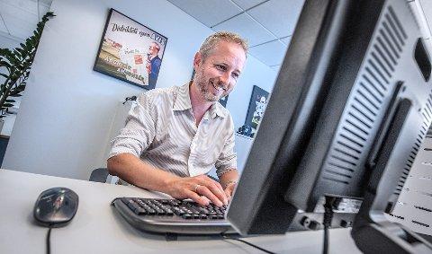 Miljøvernminister Bård Vegar Solhjell var nettgjest tirsdag.