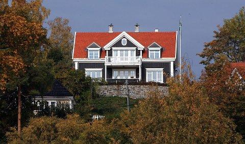 Huset på Stabekk fra 2013 fikk skryt for å «oppnå mange av de kvalitene vi forbinder med tidligere tiders byggmesterhus».