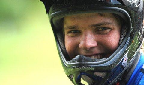 Lars Vatnebryn Sandviken tok sølv i Nordisk mesterskap i utforsykling