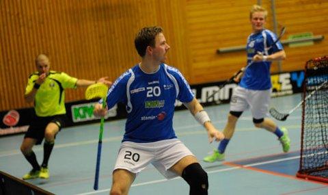 Steffen Løvlund og NOR hadde både mye og glede seg over og mye å fortvile over da de til slutt mistet ledelsen.