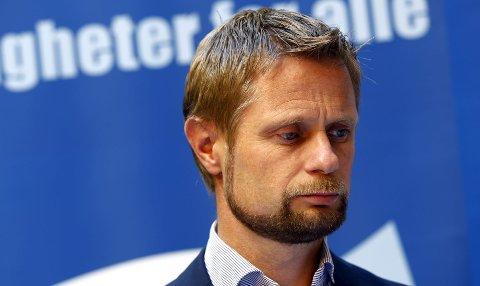 GIR SITT ORD: Helse- og omsorgsminister Bent Høie fastholder at Norsk helsearkiv skal være på Tynset.foto: Lise Åserud/NTB Scanpix