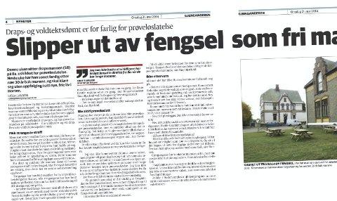 FAKSIMILE: Gjengangeren onsdag 21. mai 2014.