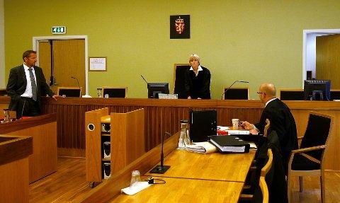 Dommerfullmektig Birgitte Moe idømte Våler-mannen en solid bot for råkjøringen hans.