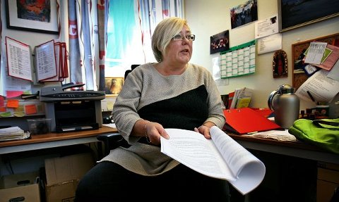 Heller ikke tillitsvalgte er perfekte, sier Hilde Torgersen i Fagforbundet Moss. Hun synes det er greit å få direkte tilbakemelding dersom noen er misfornøyde med noe hun har gjort eller sagt.