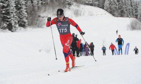 Martin L. Nyenget er klar for junior-VM. FOTO: SVEIN HALVOR MOE