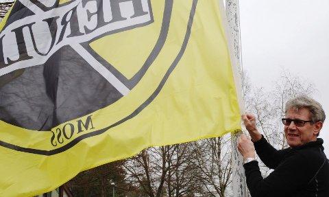 FØRSTERETT HK Herulf Moss spiller håndball på øverste nivå og skal prioriteres når det gjelder flagging på kommunale flaggstenger. – Men faren for «kollisjoner» med Moss FK og Sprint-Jeløy er relativt liten, tror HK Herulf-leder Erik Reier.