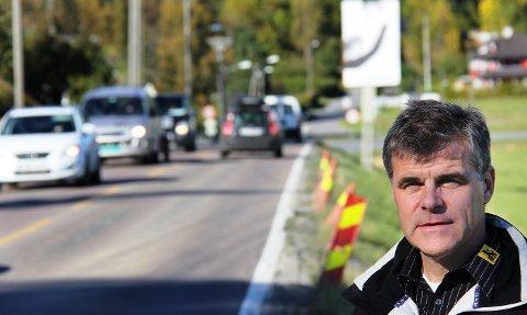 FOR DÅRLIG: – Tiden har gått fra Røykenveien, mener Stig Wettre-Johnsen, styreleder i NAF Asker og Bærum.
