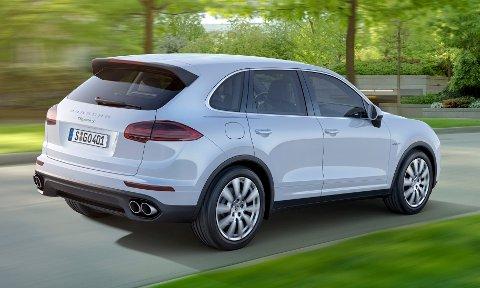 Med et gjennomsnittlig utslipp på 182 gram CO2, er Porsche verstingen blant premiumbilene.
