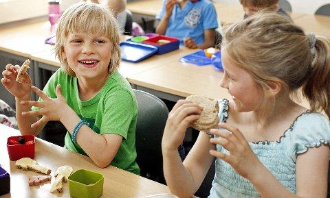 Variasjon og morsomme detaljer er ofte alt som skal til for å gjøre matboksen til en forlokkende forundringspakke for barna.