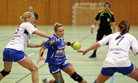 En leken Tatiana Alifanova var i storform, scoret ni mål og var en av HK Rygges aller beste spillere hjemme mot LFH 09 idag.