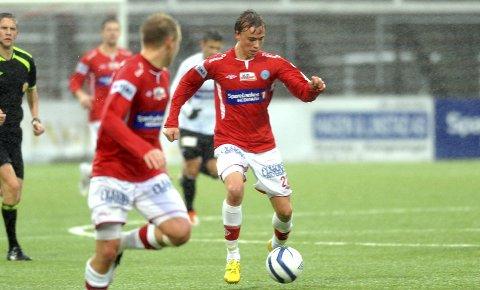 Martin Skjelbred Ellingsen spilte i 83 minutter for KIL i seieren mot Strømsgodset 2.