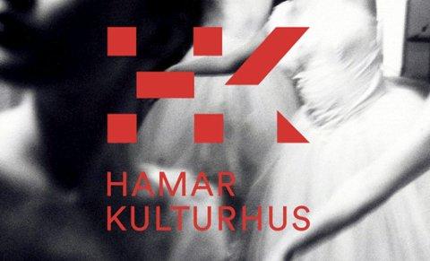 NY LOGO: Slik ser den ut, den nye logoen til Hamar kulturhus som ble presentert tirsdag.