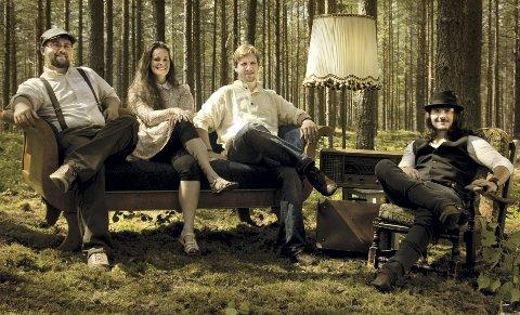 BANDET: Vimarida, her representert ved: Lars Rød-Eriksen f.v., Marita Grøtan Heggstad, Morten Sevaldson Næss og Adam Bielek.