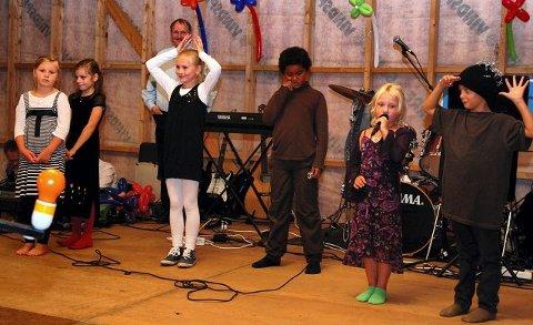 Unge Kirkebygden-elever framførte flere av Æsops fabler.