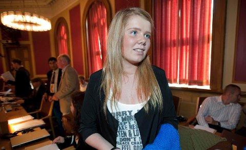 - Dette er veldig stort, synes 18 år gamle Christina Højer Mørkve (H), født i 1993.