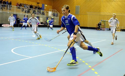 Daniel Aronsson var en av mange målscorere for NOR 92.