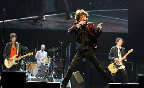 SNART KLARE: Mandag går The Rolling Stones på scenen på Fornebu. Det norske bandet Big Bang skal varme opp for Stones på Telenor Arena.