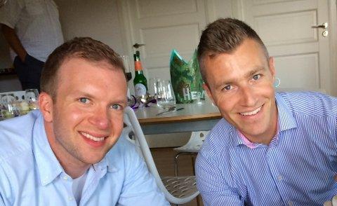 Åsgeir Almvik og Henrik Ludvigsen angrer ikke på at de lot samlivsekspertene fra NRK slippe til.