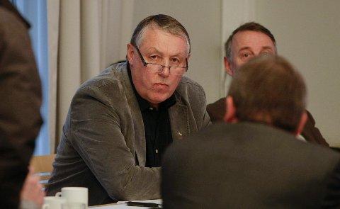 Styreleder Toralv Mikkelsen og nestleder Kjell Arvid Svendsen i Helse Fonna.