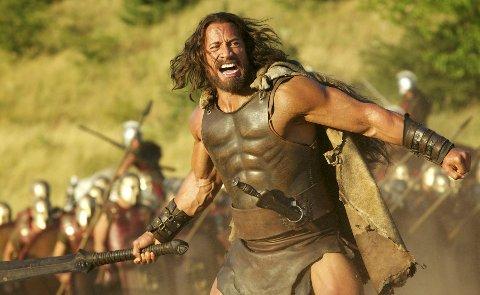 Actioneventyr: Dwayne Johnson som Hercules i filmen med samme navn.Foto: filmweb.no