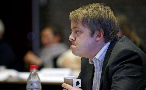 Erlend Wiborg er klarest på at eiendomsskatten skal ned hvert år fremover. foto pål andreassen