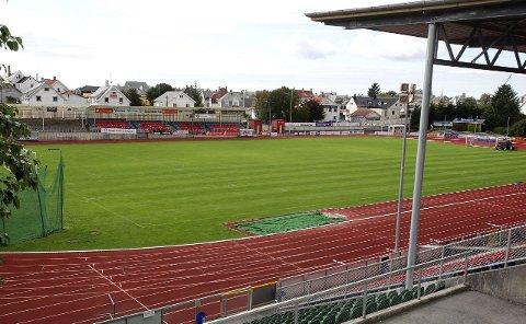 Ingen endring: FKH får det som de vil. Det blir fortsatt naturgras på Haugesund stadion.