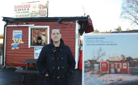 RØTTER: – Mange har en Bamsebu, sier Lars Petter Hagen, samtidskomponist fra Ski.FOTO: GRO B. RØILAND