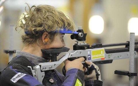 GULLGUTT: Jan Erik Fredriksen, Numedal sportsskyttere. FOTO: OLE JOHN HOSTVEDT