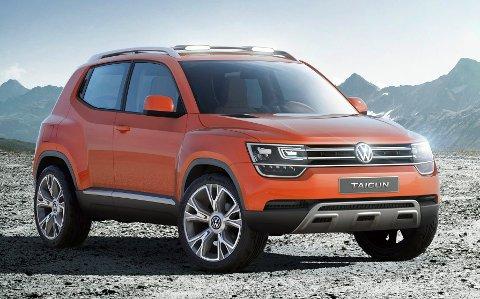 Taigun blir VWs minste SUV.