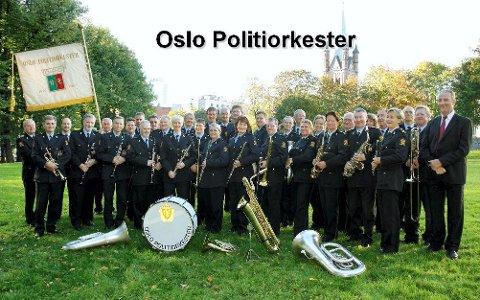 Oslo politiorkester skal spille i jubileet til Sande og Mosserød foreldrekorps i bystyresalen lørdag.