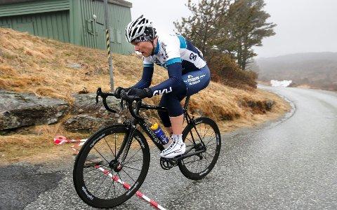 Tor Olav Gregersen er ikke sen på sykkel. Han tok sølvet i torsdagens Steinsfjellet opp med tiden 6.53.