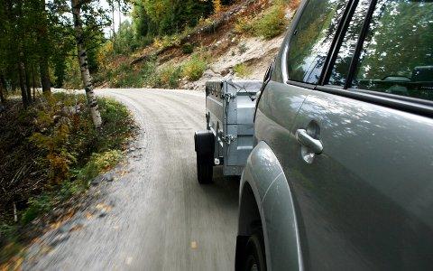 Har du førerkort klasse B, må ikke vekten på vogntoget overskride 3500 kilo.