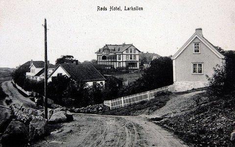 Borte Røds badehotell var populært,men i dag er det borte.