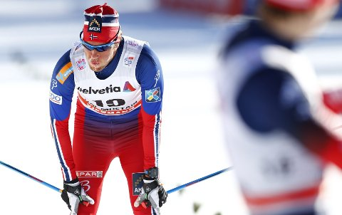 Depper ikke: – Med tanke på det som kommer, så er det greit å få hvile i dag, sa Chris Jespersen etter 54. plass på tirsdagens sprintprolog. Foto: Heiko Junge/NTB scanpix