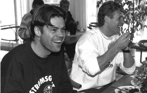 Vegard Hansen og Odd Johnsen SIF, 28.12.1994