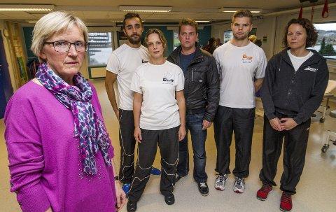 Fortviler: Edel Krøll og de ansatte på Grande fortviler etter at avslaget på anken kom. Over 50 ansatte må finne seg nye jobber.Arkivfoto