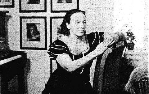 Ingeborg Refling Hagen ble i 1946 invitert til Amerika av Eleanor Roosvelt.