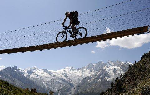 Sveits er et land for den som vil oppleve strålende tilrettelegging. Bilder er fra kantonen Wallis