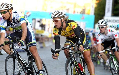 Oslo Grand Prix. Hans Petter Smette Berntzen var med i teten sammen med de beste gutta lenge