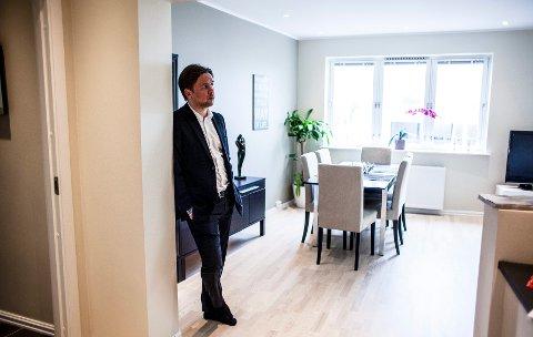De fleste stiller gode spørsmål og møter forberedt til visning, forteller salgssjef og partner Anders Andersen i Aktiv St. Hanshaugen.