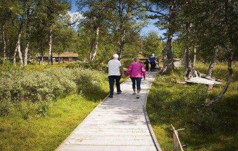 NORGES FØRSTE: Gutulia nasjonalpark er landets første universelt utformede nasjonalpark. Det blir offisiell åpning mandag 23. juni.