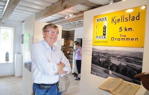 Jan Stolp er fascinert av historien om forholdet mellom de to nabokommunene, Lier og Drammen.