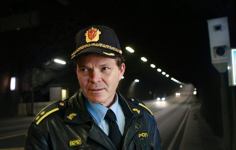 Politioverbetjent Egil Espeland ved Stord lensmannskontor.