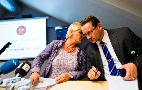 Finn Egil Holm er utnevnt til stabssjef for Siv Jensen. Han fortsetter samtidig som generalsekretær i Frp.
