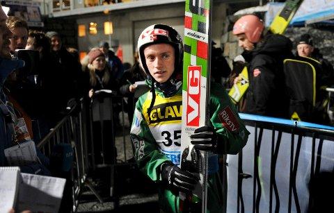 Anders Fannemel tok 3. plass i kvalifiseringen med et hopp på 211 meter.