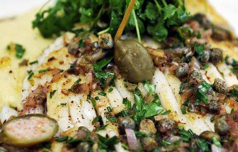 Med potetpuré og brunet smør blir skaten selve skatten blant fiskemåltidene.